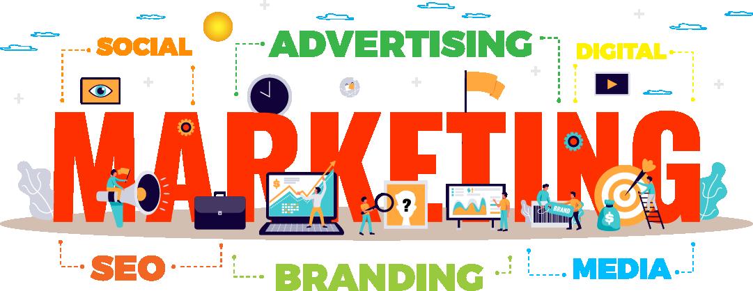 hình banner marketing online